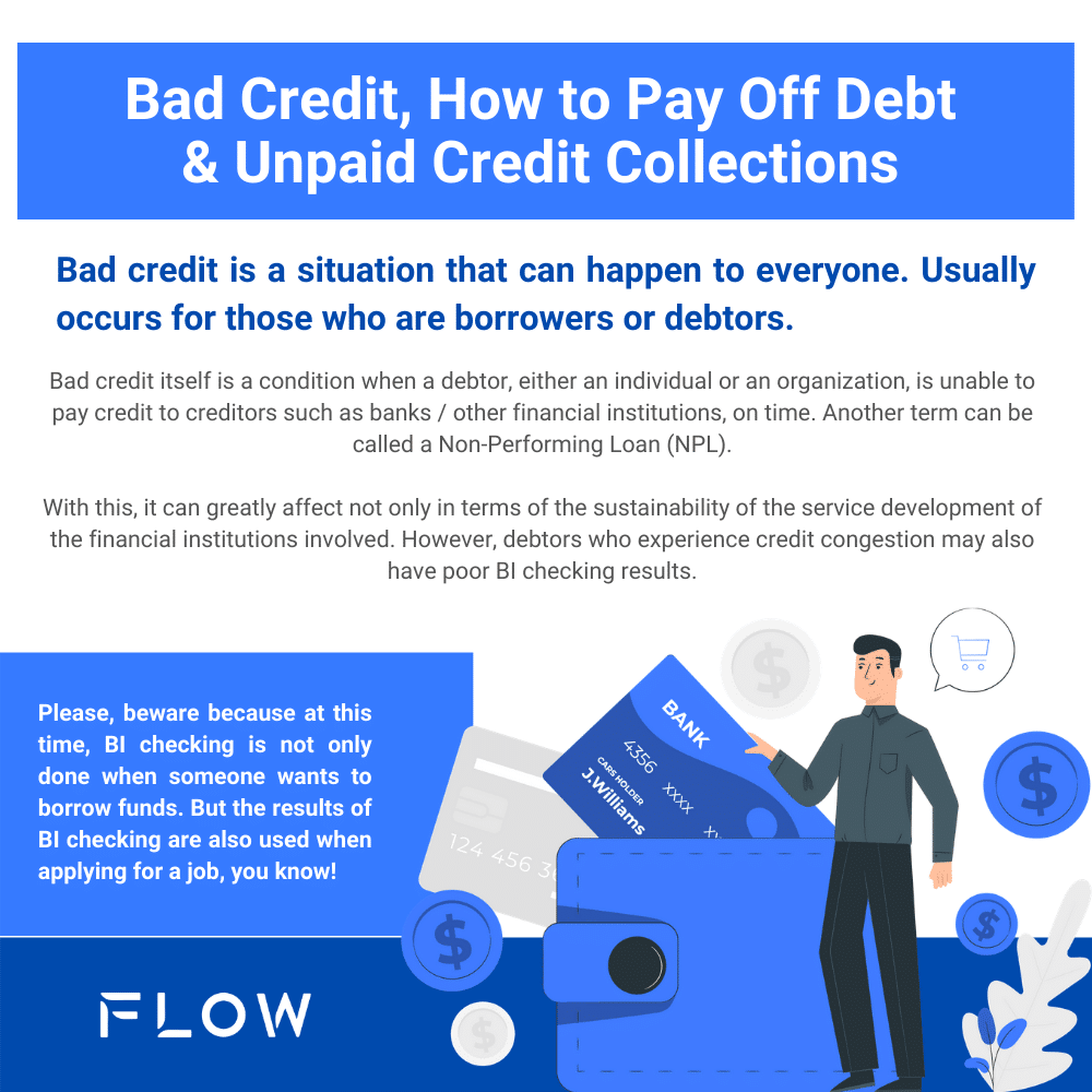 Bad Credit, How to Pay Off Debt & Unpaid Credit Collections